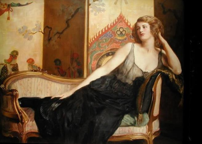 John_Collier_-_Reclining_Woman that mother roberta beary