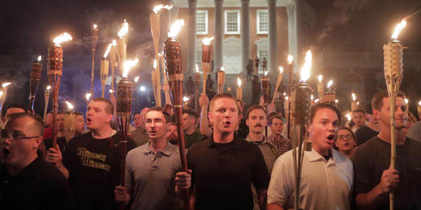 Charlottesville torches Don Krieger White Out