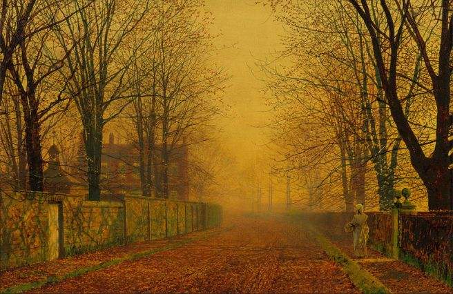 John_Atkinson_Grimshaw_-_Evening_Glow_Autumn poems by Trivarna Hariharan-_Google_Art_Project