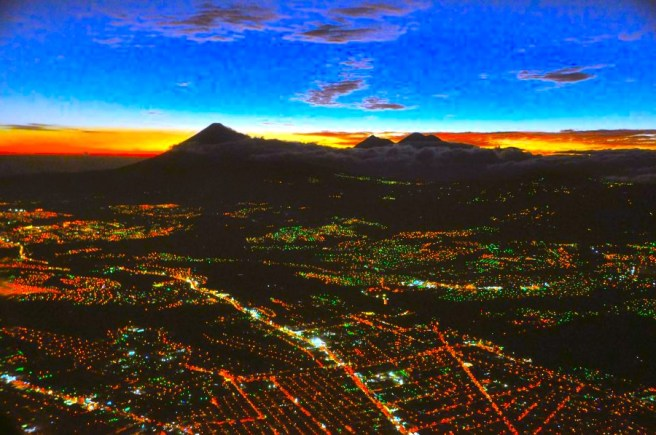 Demographics Monique Gagnon German Guatemala_city_aerial_night_b