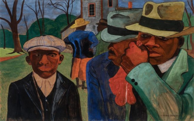 Romare Bearden-After-Church Dialects of Praise Daniel B. Summerhill